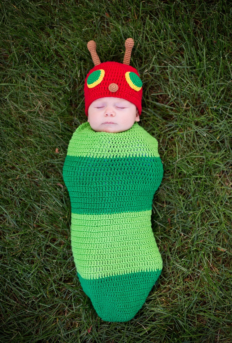 Casey the Caterpillar Bunting Costume