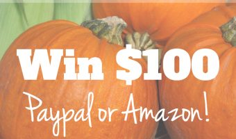 $100 Fall Instagram Giveaway Ends November 4