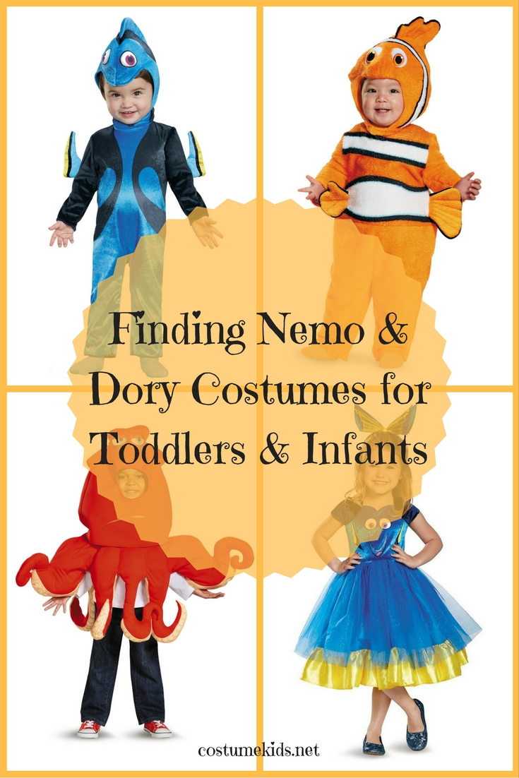 Finding Nemo & Dory Costumes for Toddlers and Infants