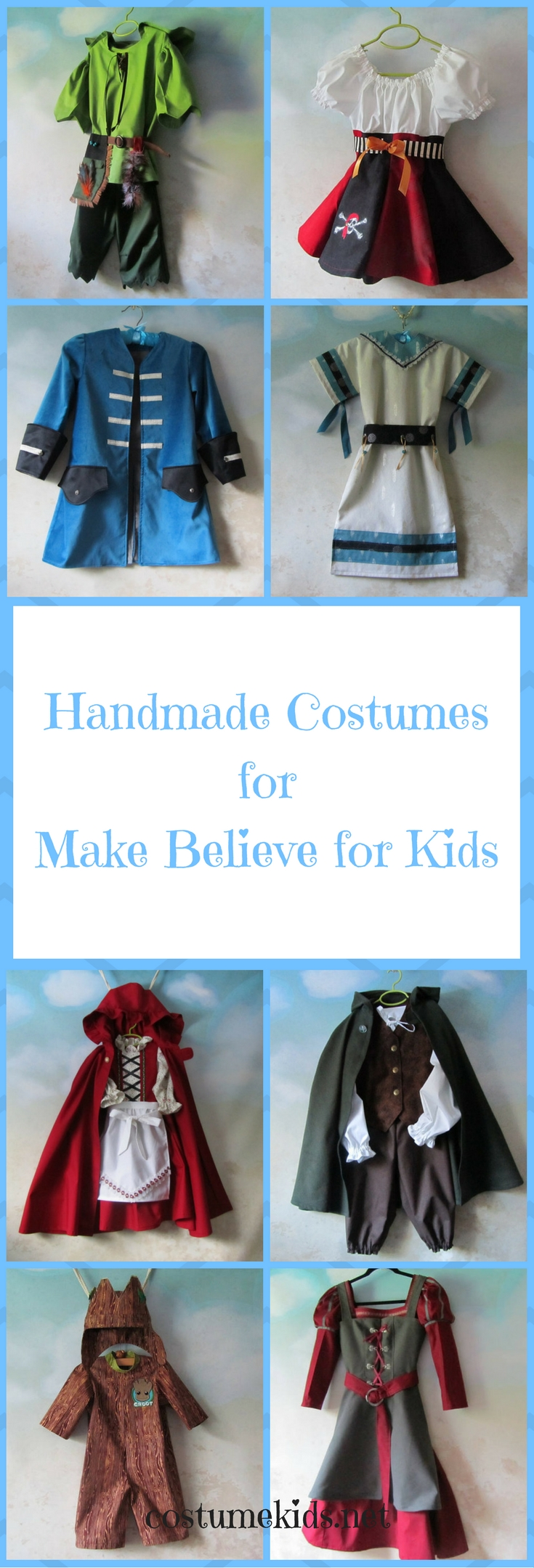 Handmade Costumes for Make Believe for Kids P