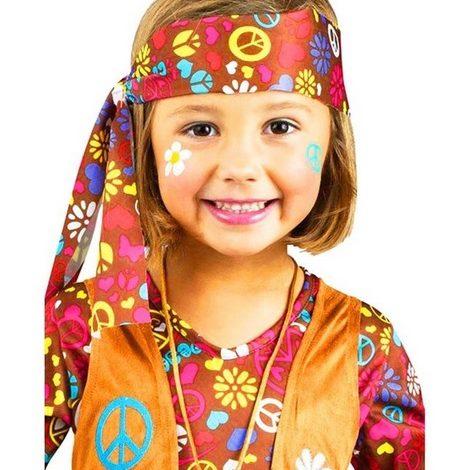 Tie Dye Hippie Costume for Kids
