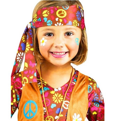 Tie Dye Hippie Costume for Kids