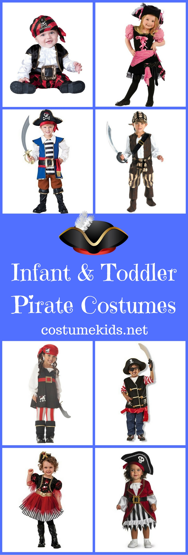 Infant and Toddler Pirate Costumes