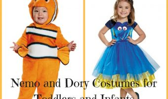 Nemo and Dory Costumes for Toddlers and Infants
