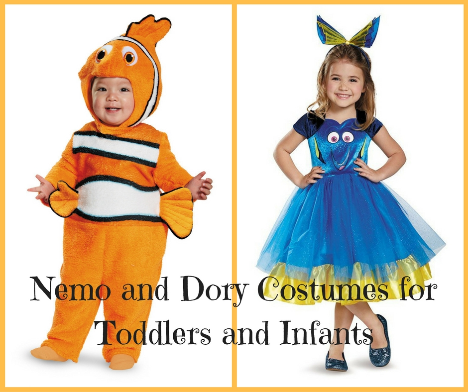 Finding Nemo and Dory Costumes for Toddlers and Infants