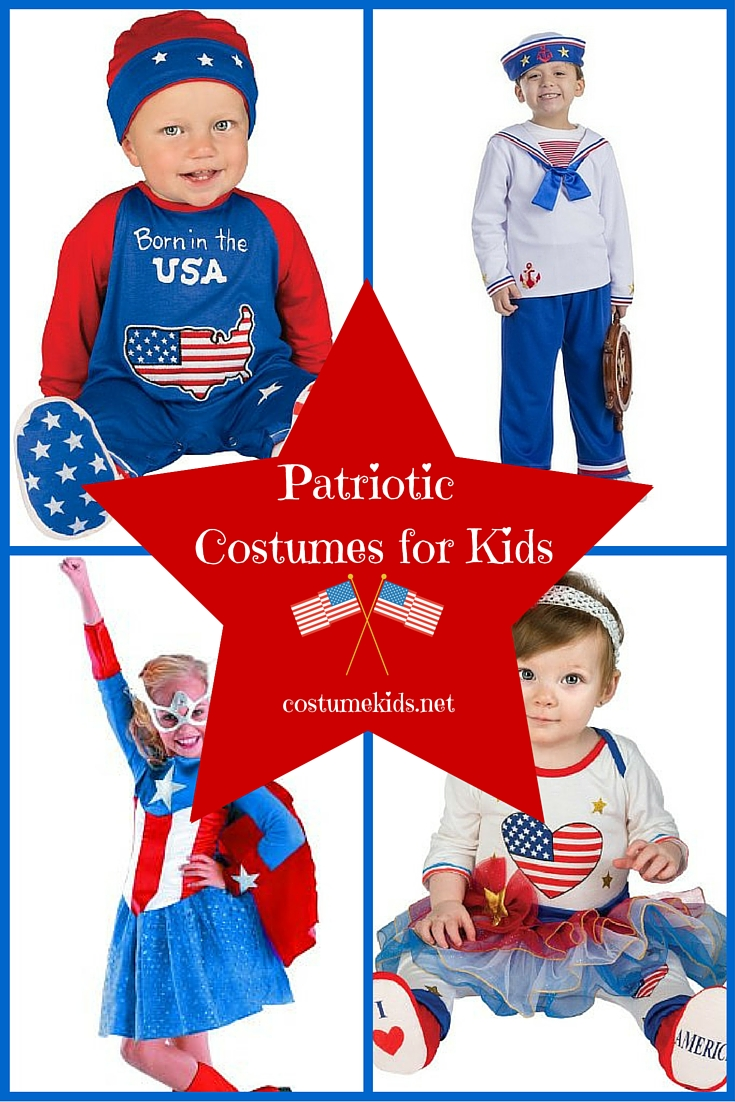 Patriotic Costumes for Kids